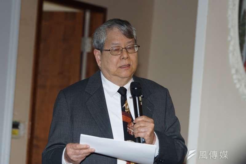 20200121-監察委員陳師孟21日針對「前特偵組偵辦郭清江涉瀆職等罪案件處置未當」提出調查報告。(盧逸峰攝)