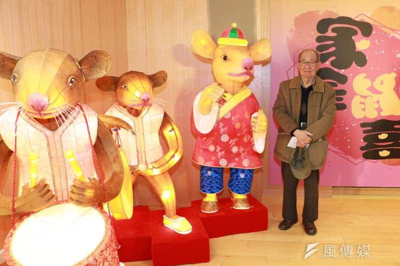 新北燈會將展出國寶級燈師林健兒老師親手打造的傳統花燈。(圖/李梅瑛攝)