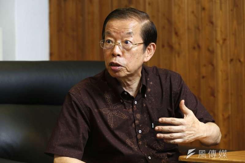 事件當下,部分台灣媒體無視駐日代表謝長廷的澄清資訊,持續散播偏頗報導。(郭晉瑋攝)