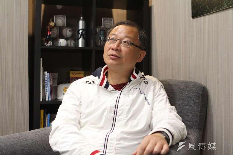國民黨在2020大選再度經歷選舉海嘯,藍委吳志揚認為,國民黨不應該再做兩岸的調人,要用新論述來面對未來的新局。(圖/葉滕騏攝)
