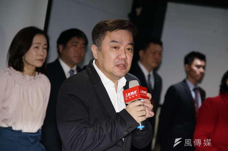 20200122-遠東航空22日召開記者會,董事長張綱維出席。(盧逸峰攝)