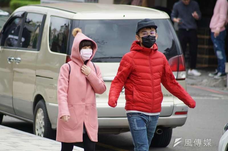 台灣民眾早在今年1月底就已紛紛戴上口罩,進行自我防護。(資料照片,盧逸峰攝)