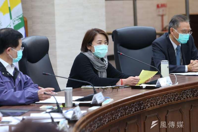 針對武漢肺炎疫情,台北市副市長黃珊珊4日上午出面說明。(資料照,顏麟宇攝)