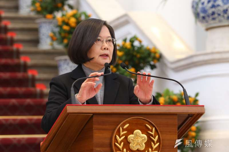 針對美國參議院於台灣時間今(12)日一致同意通過《台北法案》,總統府表示感謝。圖為總統蔡英文。(資料照,顏麟宇攝)