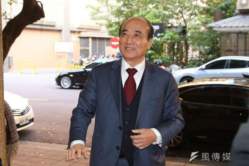 前立法院長王金平取消代表國民黨出席海峽論壇。(顏麟宇攝)