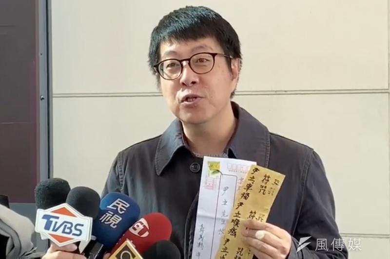 高雄市前文化局長尹立(見圖)認為,高雄市長韓國瑜「完全沒有資格」去談論農民運動家簡吉,更質疑韓國瑜的演講稿是中聯辦給的。(資料照,徐炳文攝)
