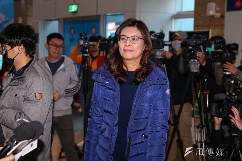 20200131-國民黨新科立委鄭麗文31日出席出席新科立委座談。(顏麟宇攝)