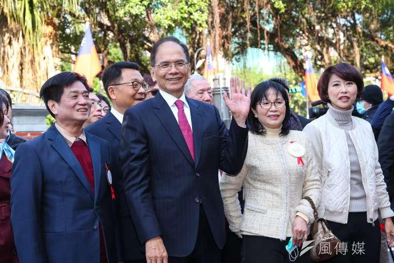 20200201-民進黨準立院龍頭游錫堃1日至立院報到。(顏麟宇攝)