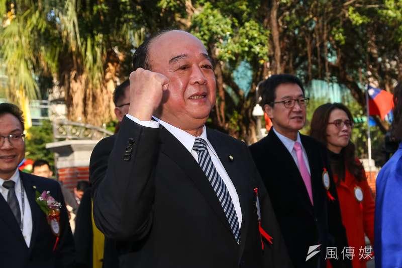 立法院還沒開議,國民黨立委吳斯懷的書面質詢就掀起話題,讓民進黨擺出「駡陣」。(顏麟宇攝)