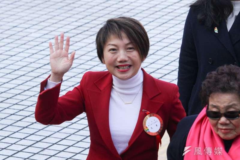 20200201-新任立委范雲出席109年立委就職。(蔡親傑攝)