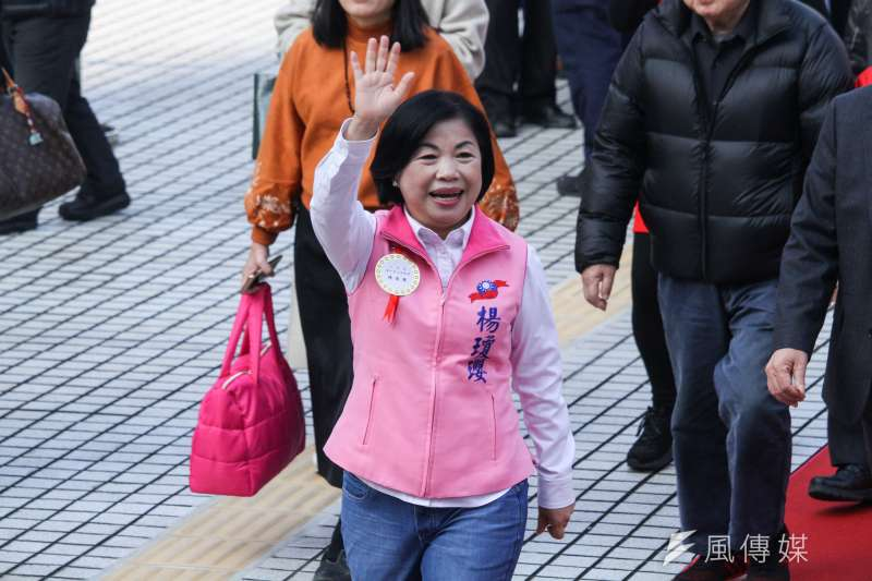 20200201-新任立委楊瓊瓔出席109年立委就職。(蔡親傑攝)