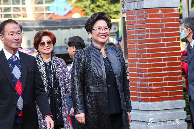 20200201-國民黨立委溫玉霞1日至立院報到。(顏麟宇攝)