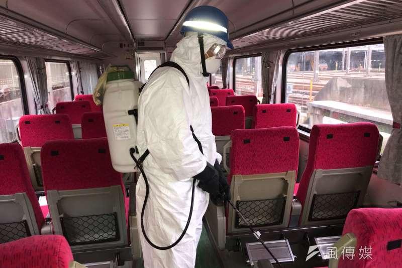 台灣鐵路產業工會指出,台鐵1名列車長曾和敦睦艦隊確診者在同一健身房運動。示意圖,非關新聞個案。(資料照,台鐵局提供)