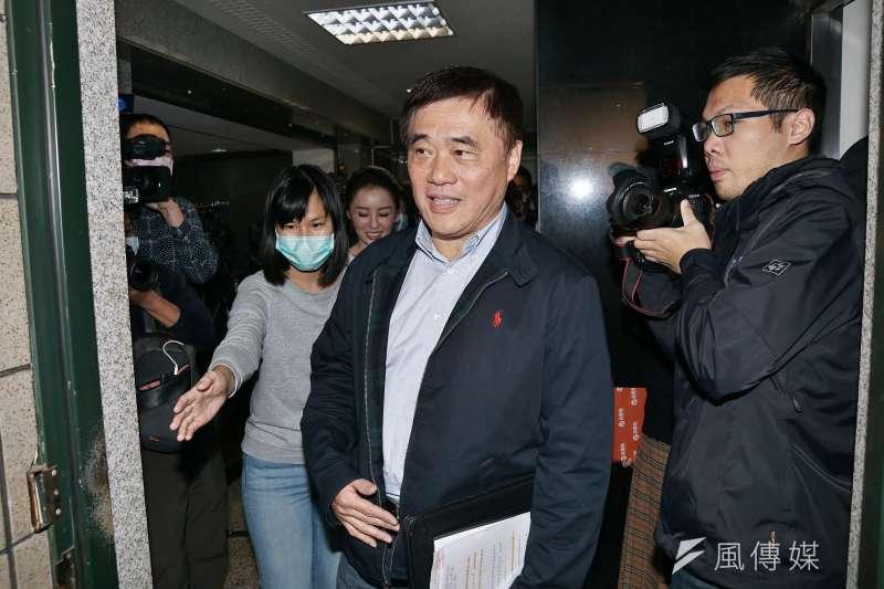 新黨主席郁慕明批前國民黨副主席郝龍斌(見圖)變小綠,新黨必須切斷與他過去的關係。(盧逸峰攝)