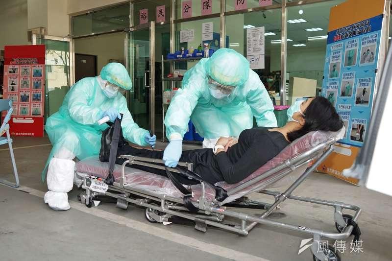 該如何防止院內感染?(盧逸峰攝)