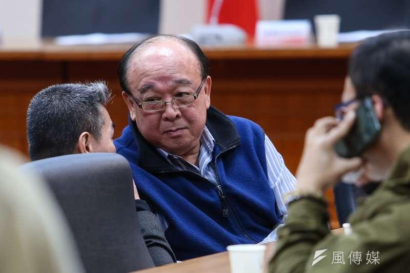 國民黨立委吳斯懷(見圖)在立法院首次提出書面質詢,遭到綠營立委砲轟。(資料照,顏麟宇攝)