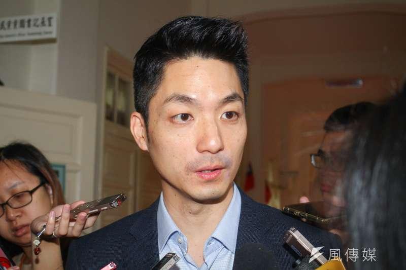針對黨內黨主席補選,國民黨團書記長蔣萬安表示,基層的聲音是能盡快改選。(資料照,蔡親傑攝)