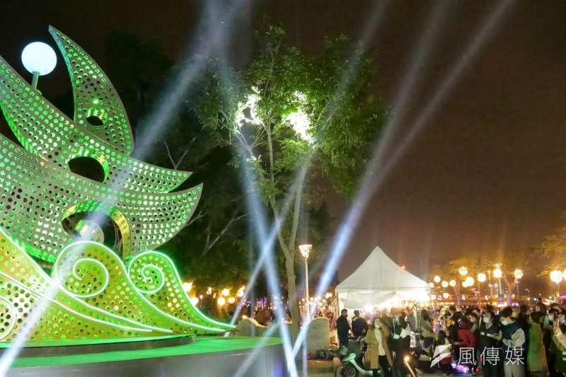 2020高雄燈會兼具在地化與國際化,表現出色。 (圖/徐炳文攝)