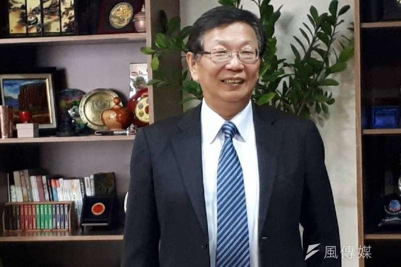 輔英科技大學校長顧志遠出身工業工程學者續任校長4年。(圖/徐炳文攝)