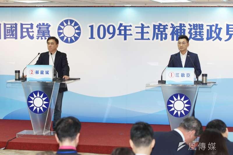 國民黨真正要改革是台灣的國家定位調整,以及革除私心自用機關算盡的高傲菁英知識藍;若沒革除兩岸統一大頭夢,國民黨是不可能受新世代青睞。(資料照,盧逸峰攝)