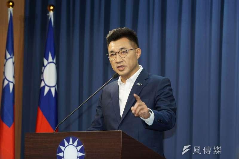 筆者指出,國民黨主席參選人江啟臣所提出的改革重點,正是國民黨能夠重燃生機的方向。(資料照,盧逸峰攝)