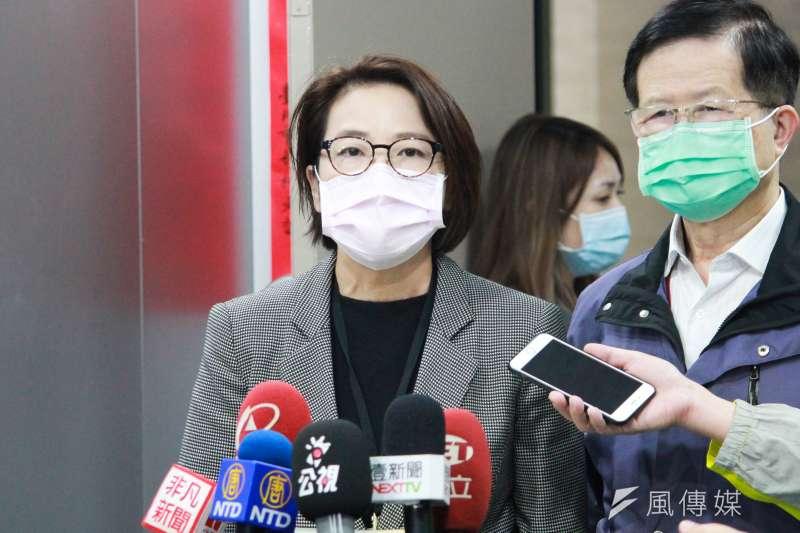 台北市副市長黃珊珊(見圖)表示,部分旅館將須受檢疫的外國旅客趕出去,北市將與中央協調,找出其他替代方案。(方炳超攝)