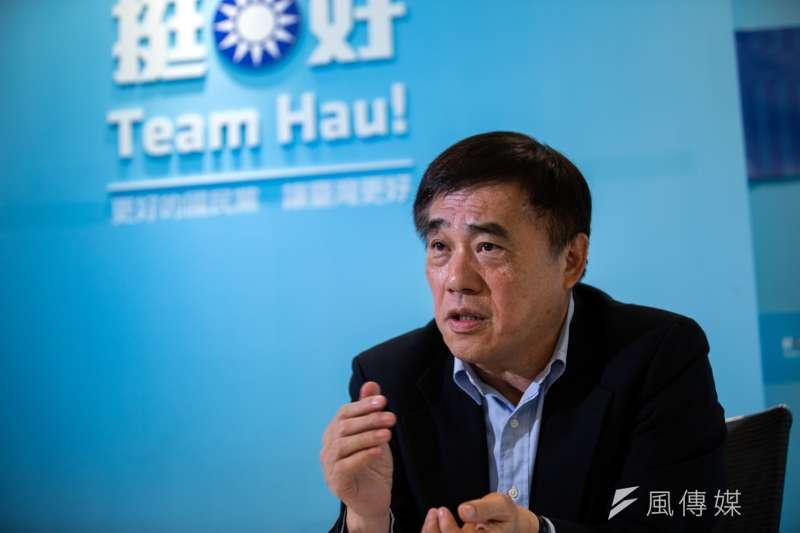 參選國民黨主席的郝龍斌認為,國民黨要爭取到多數黨內人才為黨打拚,才是關鍵,辦公處所不是最重要的。(資料照,簡必丞攝)