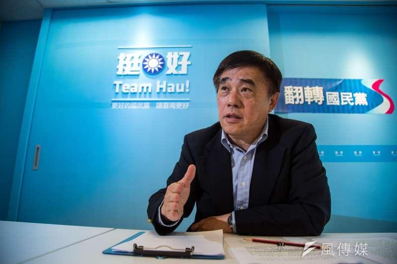 20200214-風傳媒 郝龍斌專訪。(簡必丞攝)