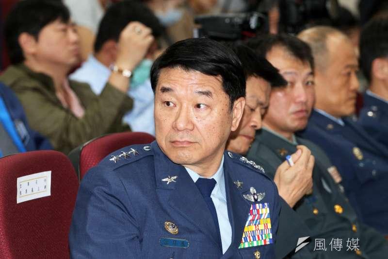20200215-空軍司令熊厚基上將。(蘇仲泓攝)