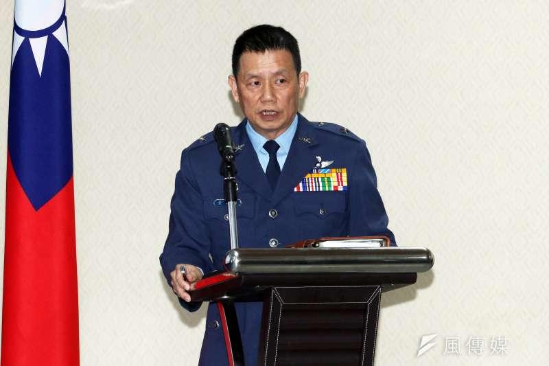 20200215-空軍督察長黃志偉少將。(蘇仲泓攝)