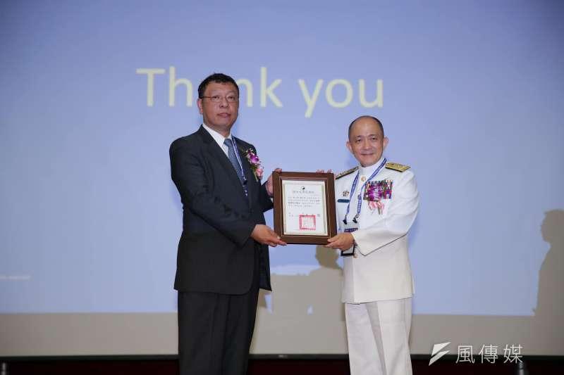 20200217-國防大學副校長唐華中將調海軍副司令一職。(取自國防大學臉書)