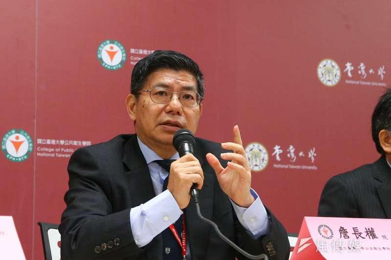 台大公共衛生學院院長詹長權(見圖)表示,台灣政府防疫一定要和國際接軌,藉此說服歐盟各國。(資料照,顏麟宇攝)