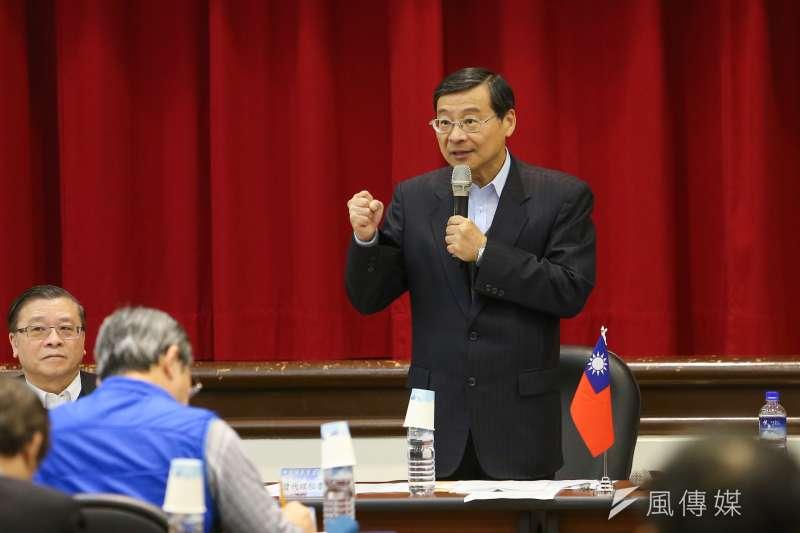 20200220-國民黨代理秘書長曾銘宗20日出席「立法實務研討會」。(顏麟宇攝)