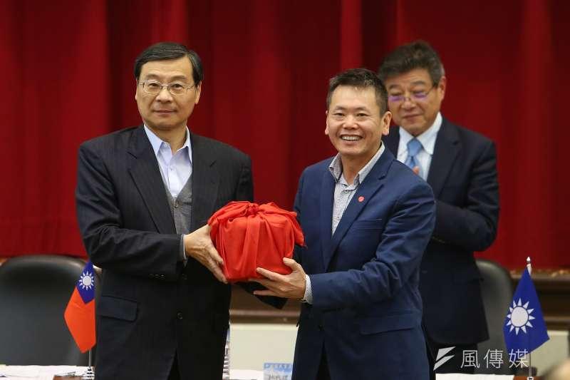 20200220-國民黨總召林為洲20日出席「立法實務研討會」。(顏麟宇攝)