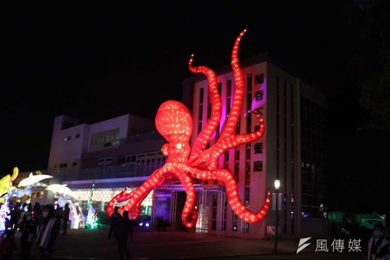 台灣燈會23日閉幕,活動精彩,民眾可以欣賞深具多元文化及科技魅力的燈飾及展演活動。(圖/記者王秀禾攝)