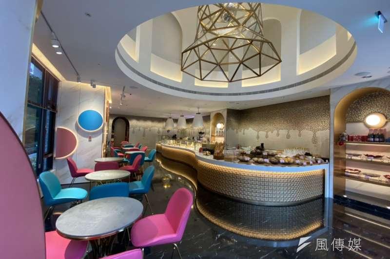 H2O水京棧酒店將在美術館特區的「美術皇居」店面,成立首家館外的畢卡索烘焙坊「Picasso- H2O Bakery」。(圖/徐炳文攝)