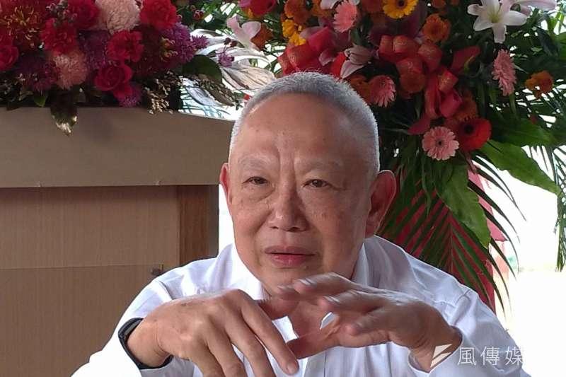 富邦建設薛昭信董事長,展現富邦建設深耕南台灣的決心。(圖/徐炳文攝)
