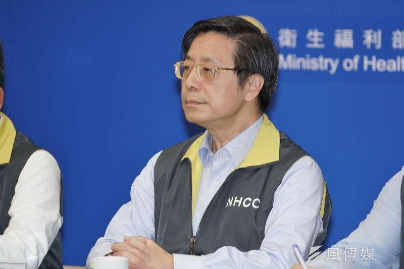 中央流行疫情指揮中心專家小組召集人張上淳(見圖)2日說,台灣出院前的採檢相當嚴格,目前沒有出院後採檢又呈陽性的狀況。(資料照,盧逸峰攝)