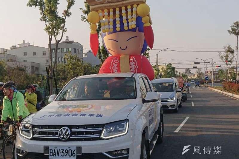 台中市府運動局跟六大宮廟合作,透過單車活動,讓民眾認識宮廟文化。(圖/台中市政府)