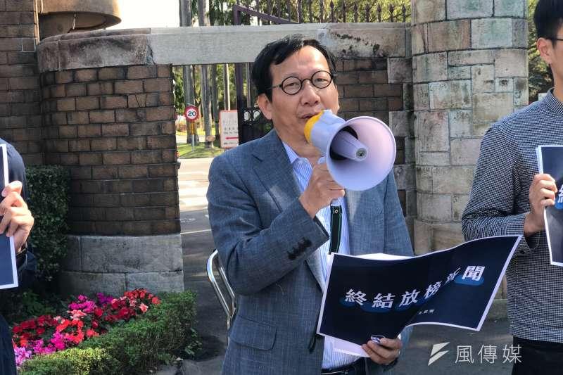 20200224-台大社會系主任林國明過去曾擔任高中家長會長。(李芯攝)