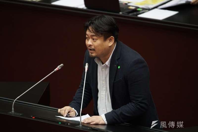 民進黨立委洪申翰回應民眾及網友對國土計劃法的質疑。(資料照片,盧逸峰攝)