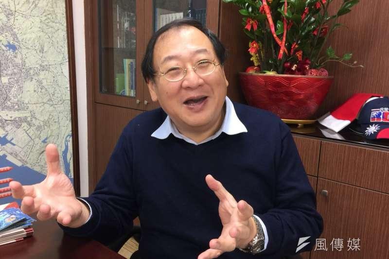 趙紹廉在公務體系任職30年,離鄉背井南下效力韓市府接掌海洋局。(圖/徐炳文攝)