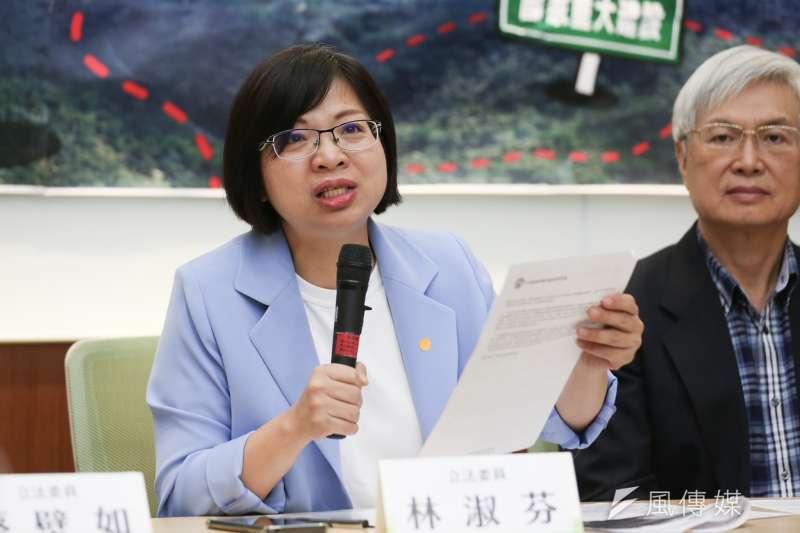 民進黨立委林淑芬在臉書感嘆,不管是民主黨還是共和黨執政都要台灣人吞瘦肉精,「人民真的很卑微!」(資料照,簡必丞攝)