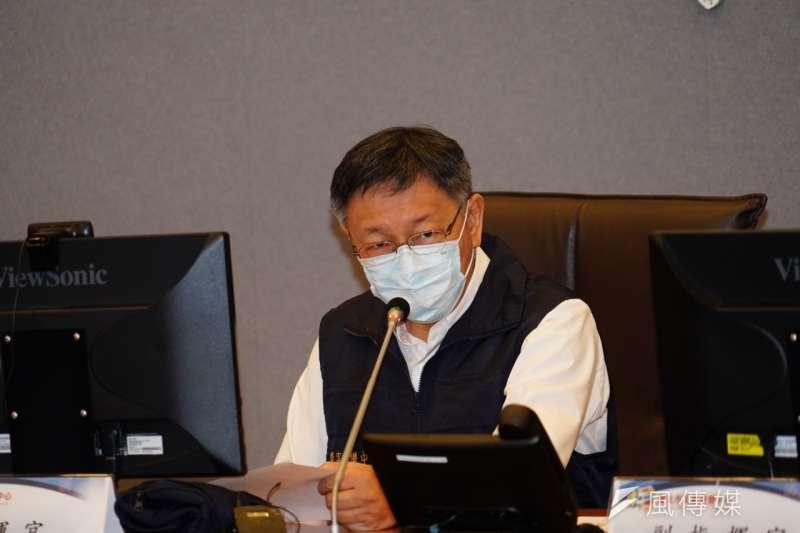 台北市長柯文哲今(4)日中午前往民眾黨團參加黨政聯繫會議。(資料照,方炳超攝)
