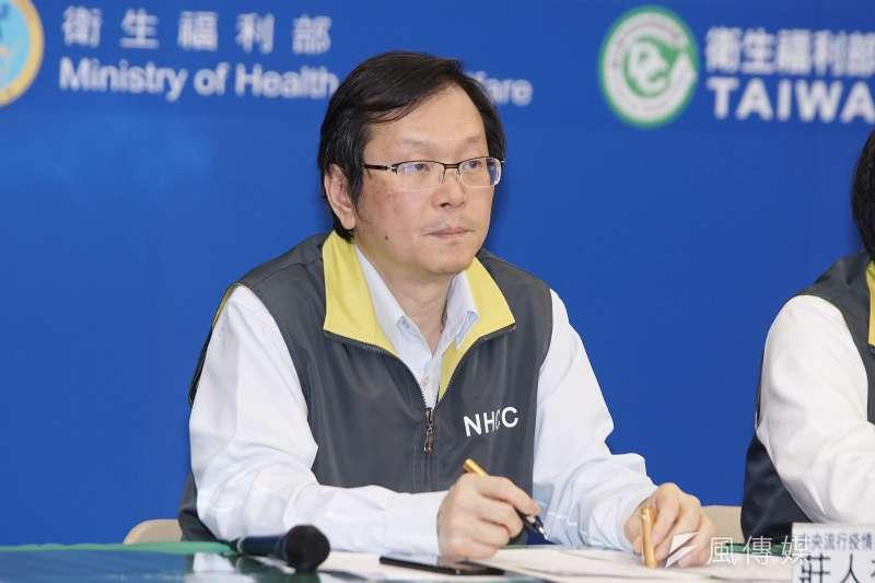 中央流行疫情指揮中心發言人莊人祥表示,對於境外入境者是否要全面篩檢,指揮中心一直都在討論中,但暫未考慮實施。(資料照,盧逸峰攝)