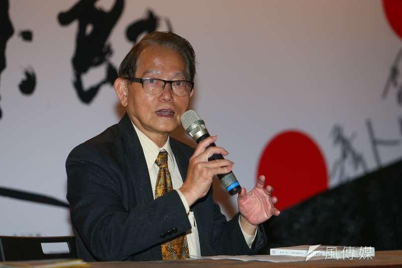 20200228-二二八受難者家屬王克雄博士28日出席「第八屆共生音樂節」。(顏麟宇攝)