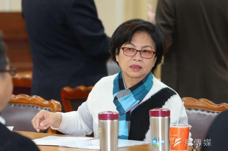 20200302-民進黨立委湯蕙禎2日出席內政委員會召委選舉。(顏麟宇攝)