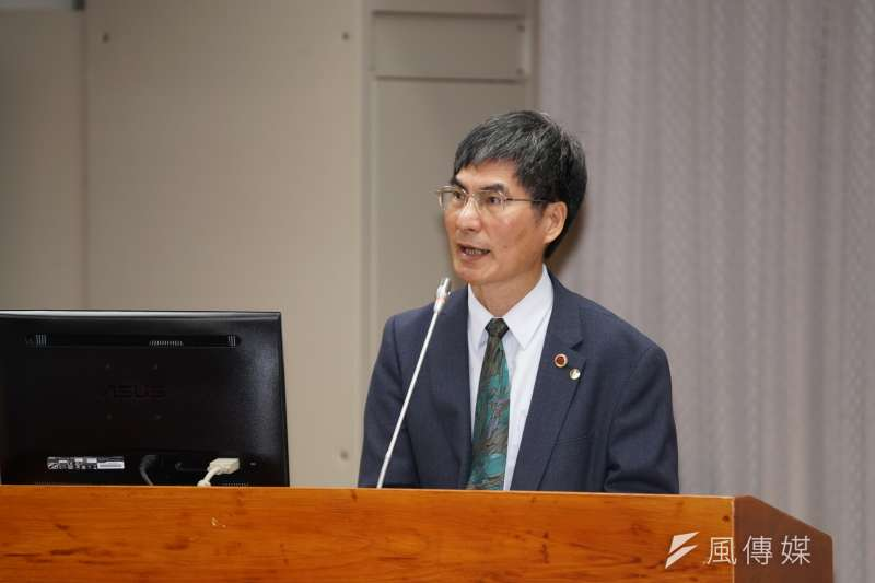 20200304-科技部長陳良基4日出席教育文化委員會備詢。(盧逸峰攝)