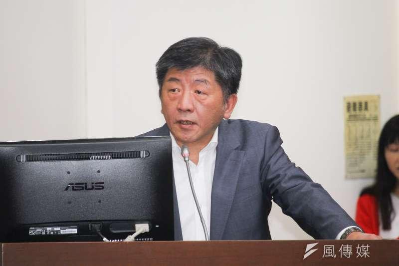 20200304-衛福部長陳時中出席立院部會聯合質詢。(蔡親傑攝)