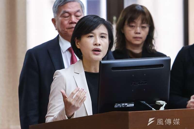 20200305-文化部長鄭麗君5日於財政委員會備詢。(顏麟宇攝)
